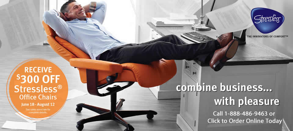 Save Big on Ekornes Office Chairs During the 2013 Stressless Office Chair Promotion